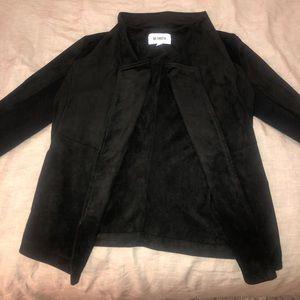 Black BB Dakota Wade Faux Suede Jacket